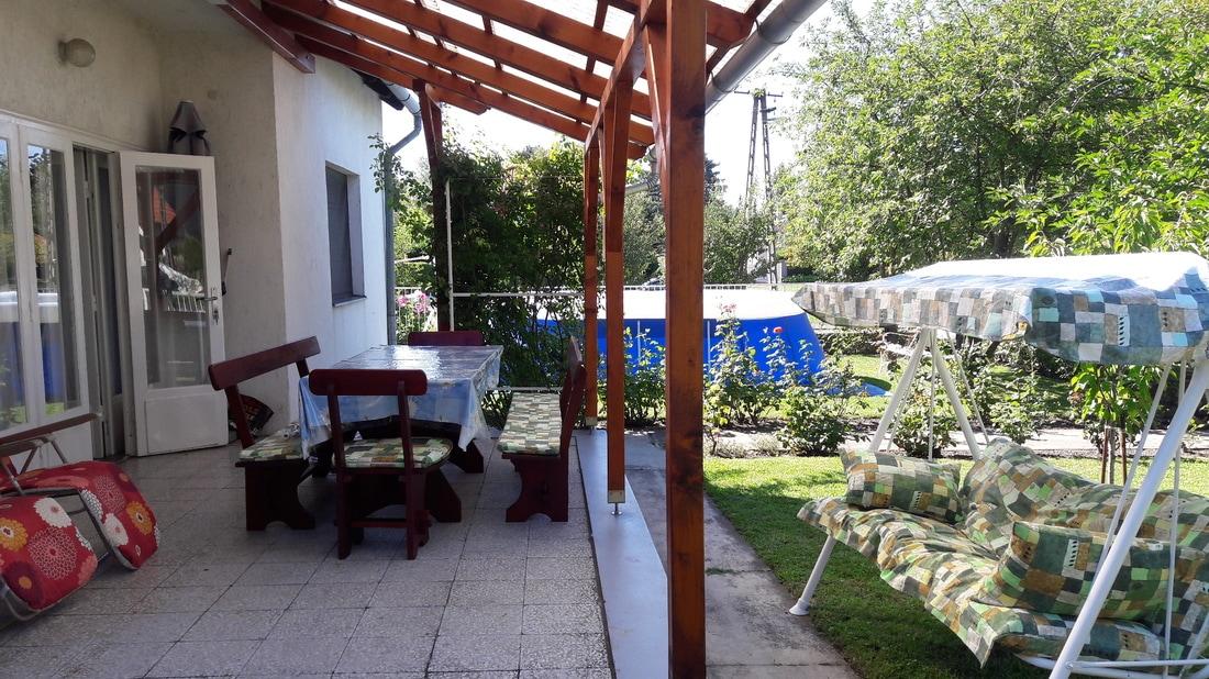 OBJEKT 152 Ferienhaus nah am Strand mit Pool für 6 Personen