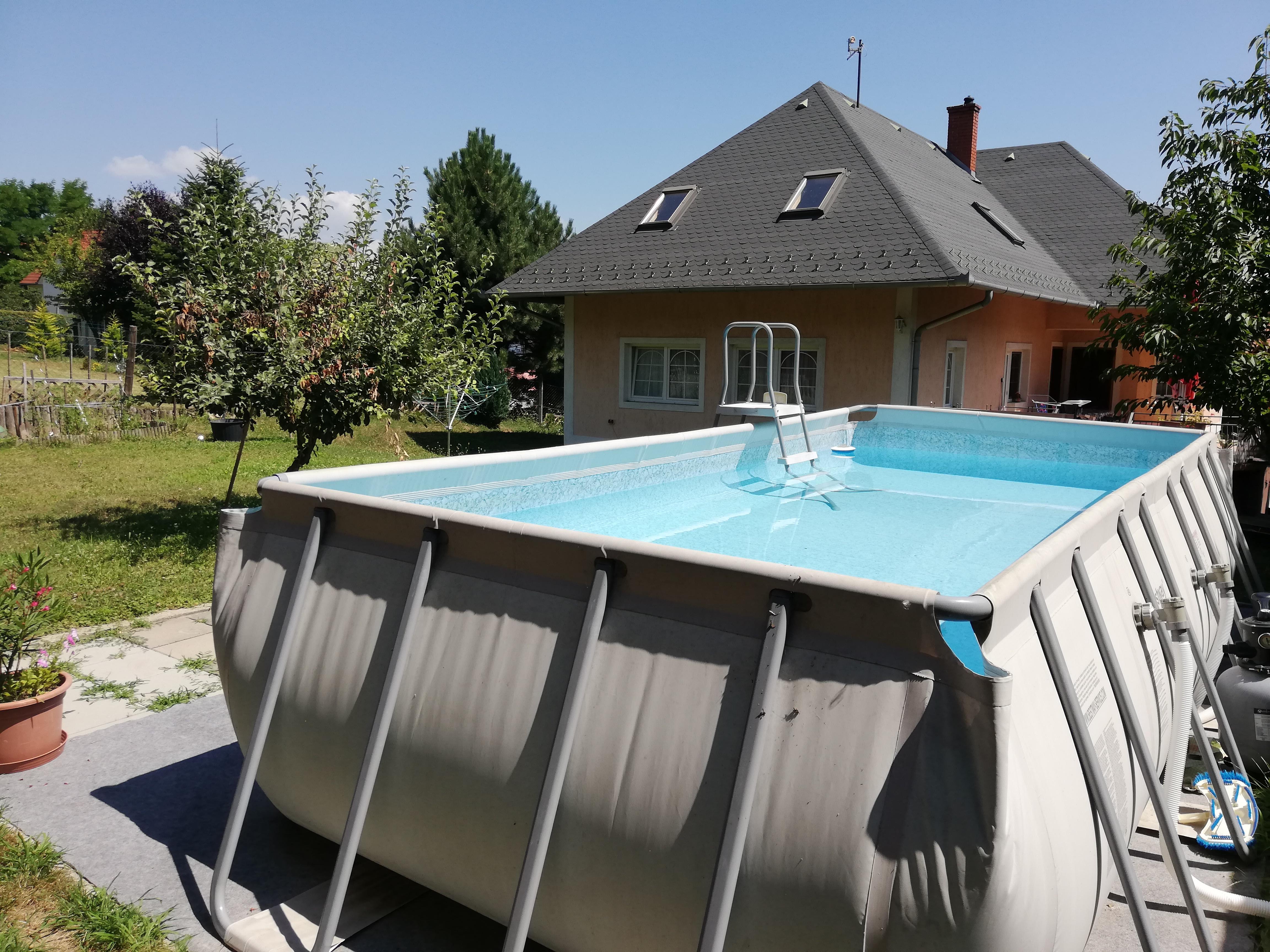 OBJEKT 100 Ferienhaus mit Pool,Spülmaschine,Wlan für 5 Personen
