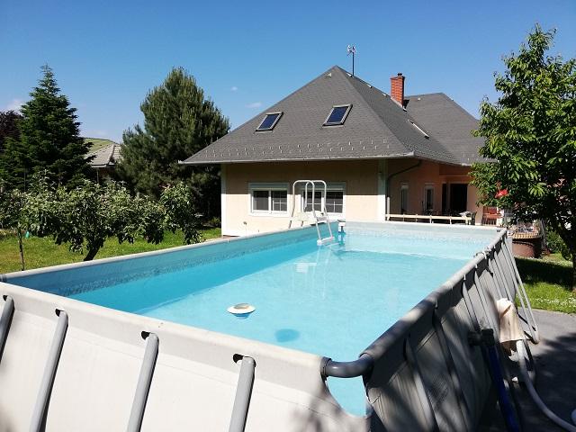 FO 100 Ferienhaus mit Pool,Spülmaschine,Wlan, Klima für 5 Personen
