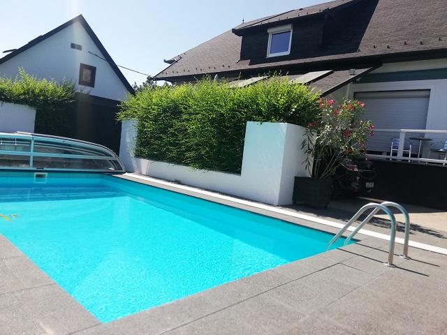 FO 104AB Top Ferienhaus  mit Pool, Wlan,Klima,Waschmaschine,Sauna